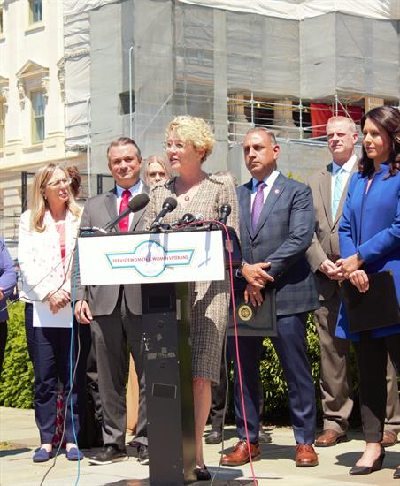 Representative Houlahan Launches Historic Servicewomen and